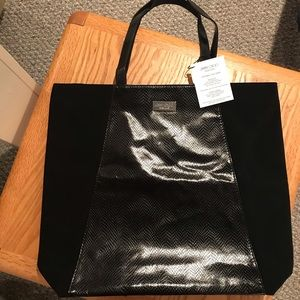 Jimmy Choo Parfums Large Black Tote Bag